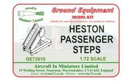 AIM - Ground Equipment  1/72 Heston Passenger Steps.  suitable for de Havilland Comet 4 (designed to be used with AIM - Transport Wings kits) http://www.aim72.co.uk/pag GE72010