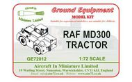 AIM - Ground Equipment  1/72 MD300 RAF tractor. http://www.aim72.co.uk/page80.html GE72012