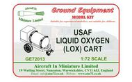 AIM - Ground Equipment  1/72 USAF Liquid Oxygen (LOX) Cart. http://www.aim72.co.uk/page54.html GE72013