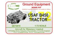 AIM - Ground Equipment  1/72 USAF B450 Tractor -  http://www.aim72.co.uk/page60.html - Pre-Order Item GE72015