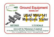 AIM - Ground Equipment  1/72 USAF MHU-141 Munitions Trailer - go to the Aircraft In Miniature web page. Http://www.aim72.co.uk/page133.html GE72023
