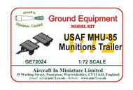 AIM - Ground Equipment  1/72 USAF MHU-85 Munitions Trailer (early). http://www.aim72.co.uk/page162.html GE72024