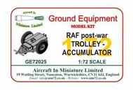 AIM - Ground Equipment  1/72 Back in stock! Trolley - Accumulator: RAF post-war GE72025L