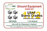 AIM - Ground Equipment  1/72 Bomb cradles. goto the Aircraft In Miniature web page.http://www.aim72.co.uk/page158.html GE72026