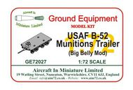 AIM - Ground Equipment  1/72 Boeing B-52 Munitions trailer (big belly mod). http://www.aim72.co.uk/page168.html GE72027