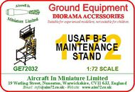 AIM - Ground Equipment  1/72 USAF B-5 maintenance platform. go to the Aircraft In Miniature web page http://www.aim72.co.uk/page200.html GE72032