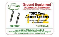 AIM - Ground Equipment  1/72 BAC TSR-2 Crew Access Ladder Set (set of 2 ladders). (designed to be used with Airfix kits) go to the Aircraft In Miniature web page web page http://www.aim72.co.uk/page201 GE72033