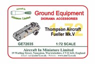 AIM - Ground Equipment  1/72 Thompson Mk.V Aircraft Fueller GE72035