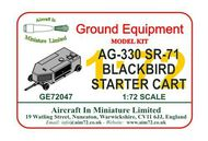 AIM - Ground Equipment  1/72 AG330 A-12 & SR-71 Blackbird starter cart. Retooled with improved detail and new engine coupling.go to the Aircraft In Miniature web page. http://www.aim72.co.uk/page138.html GE72047