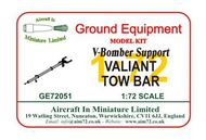 AIM - Ground Equipment  1/72 Valiant Tow Bar (V-Bomber support series) - go to the Aircraft In Miniature web page.http://www.aim72.co.uk/page120.html GE72051