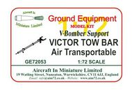 AIM - Ground Equipment  1/72 Victor Tow Bar (V-Bomber support series) v Air-transportable. http://www.aim72.co.uk/page122.html GE72053