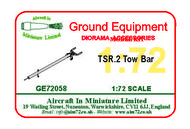 AIM - Ground Equipment  1/72 BAC TSR-2 Tow Bar (designed to be used with Airfix kit). Go to the Aircraft In Miniature web page.http://www.aim72.co.uk/page147.html GE72058