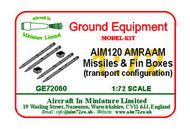 AIM - Ground Equipment  1/72 AIM120 AMRAAM accessory set. Go to the Aircraft In Miniature web page. Http://www.aim72.co.uk/page155.html GE72060