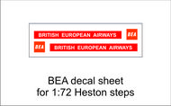 AIM - Ground Equipment Decals  1/72 BEA decal sheet for 1:72 Heston steps.  http://www.aim72.co.uk/page96.html GED72010C