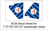 AIM - Ground Equipment Decals  1/72 KLM decal sheet-1:72 DC-3 pax steps GED72040B