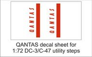 AIM - Ground Equipment Decals  1/72 QANTAS decal sheet-1:72 DC-3utility steps GED72041F