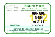 Bensen B-8M/X-25A Autogiro (1968) #HW-72002