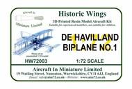 De Havilland Biplane No.1 (1909) #HW-72003
