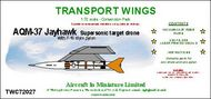 AIM - Transport Wings  1/72 Beechcraft AQM-37 Jayhawk supersonic target drone TWC72027