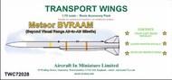 AIM - Transport Wings  1/72 Meteor BVRAAM (Beyond Visual Range Air-to-Air Missile) TWC72028