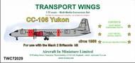 AIM - Transport Wings  1/72 CC-106 Yukon conversion set TWC72029