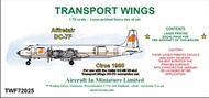 AIM - Transport Wings  1/72 Affretair Douglas DC-7F (circa 1980) TWF72025