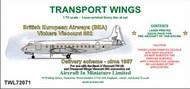British European Airways (BEA) Vickers Viscount 802 #TWL72071
