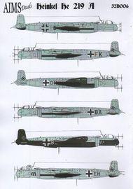 AIMS  1/32 Heinkel He 219 AIMS32006