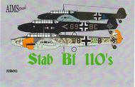 AIMS  1/32 Stab Messerschmitt Bf.110's (6 possible o AIMS32012