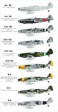 AIMS  1/32 Late war Messerschmitt Bf.109's AIMS32015