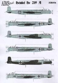 Aims  1/32 Heinkel He.219A (7) AIMS32D006
