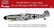 Messerschmitt Bf.109G-1 conversion #AIMS32P10