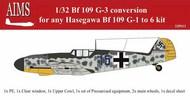 Messerschmitt Bf.109G-3 conversion #AIMS32P13