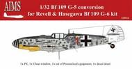 Messerschmitt Bf.109G-5 conversion #AIMS32P14