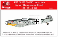 Messerschmitt Bf.109G-4/R3 conversion #AIMS32P17