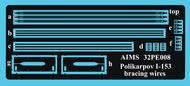 Polikarpov I-153 strut bracing wires #AIMS32PE08