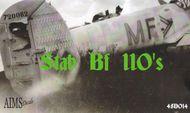 AIMS  1/48 Stab Messerschmitt Bf.110's (21 Options plus AIMS48014