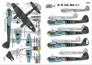 AIMS  1/48 Junkers Ju.88 early versions: 9K+AL The subje AIMS48015