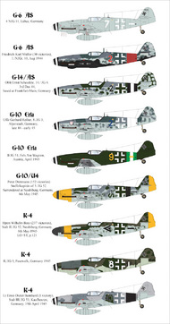 AIMS  1/48 Late war Messerschmitt Bf.109's AIMS48024