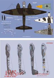 Aims  1/48 Re-printed! Junkers Ju.188E-1/Ju.188F-1 collection - Pre-Order Item AIMS48D006