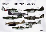 Aims  1/48 Messerschmitt Me.262A-1/Me-262B-2 Collection (8) AIMS48D011