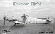 Aims  1/48 G9+FM - Messerschmitt Bf.110D-3 of 4/NJG 1 based most likely at St. Trond AIMS48D013