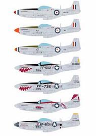 Korean War North-American P-51D Mustangs #AIMS48D026