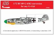 Messerschmitt Bf.109G-4/R3 conversion #AIMS72P003