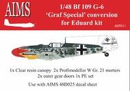 Messerschmitt Bf.109G-6 'Graf Special'  Detailing Set #AIMSP48011
