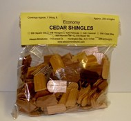 ALESSIO   Cedar Fishscale Dollhouse Wood Shingles (250pc) ALE52