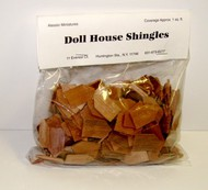 ALESSIO   Cedar Diamond Dollhouse Wood Shingles (250pc) ALE53