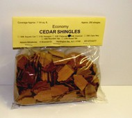 ALESSIO   Cedar Classical Dollhouse Wood Shingles (250pc) ALE54