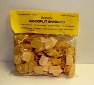 ALESSIO   Handsplit Hexagon Dollhouse Wood Shingles (315pc) ALE63