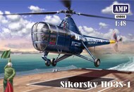 Sikorsky HO3S-1 USN and Marines with etched parts #APK48001